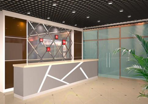 办公室形象墙设计 - 西安双鱼标识制作工程有限公司